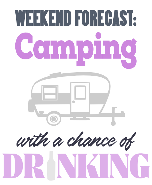 Free Camping Forecast SVG Cutting File