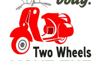 Free 2 Wheels SVG Cutting File