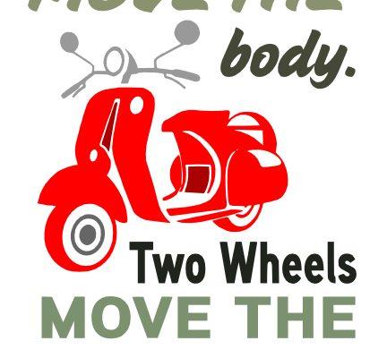 Free 2 Wheels SVG Cutting File