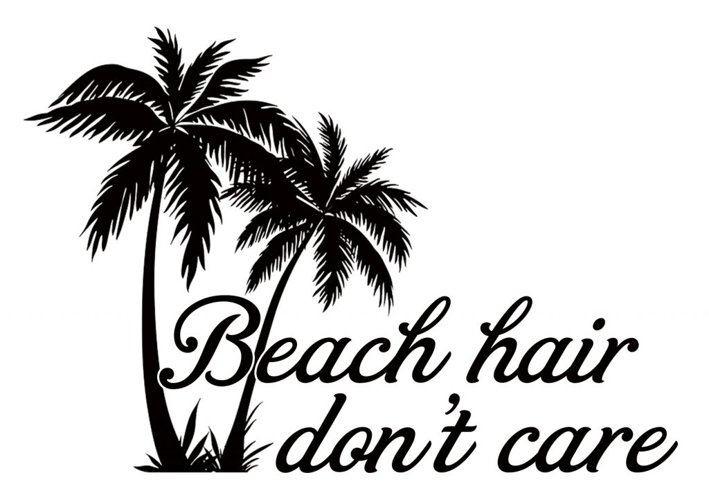 Free Beach Hair SVG Cutting File