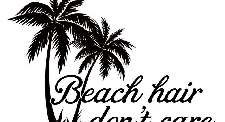 Free Beach Hair SVG Cutting File