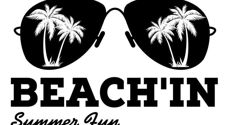 Free Beach'in SVG Cutting File