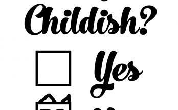 Free Childish SVG Cutting File
