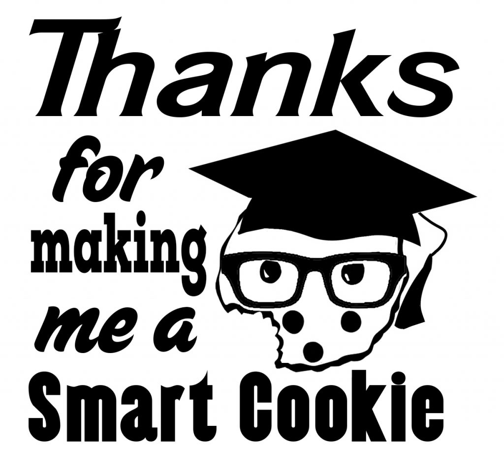 Free Smart Cookie SVG Cutting File
