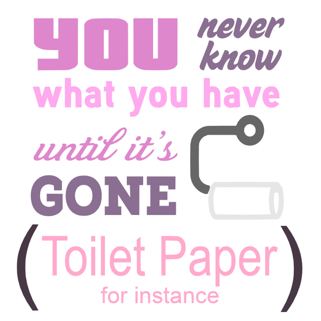 Free Toilet Paper SVG Cutting File