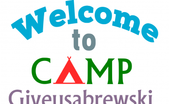 Free Welcome to Camp SVG Cutting File