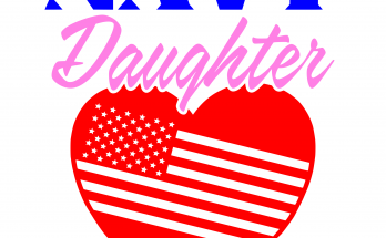Free Navy Daughter SVG Cutting File