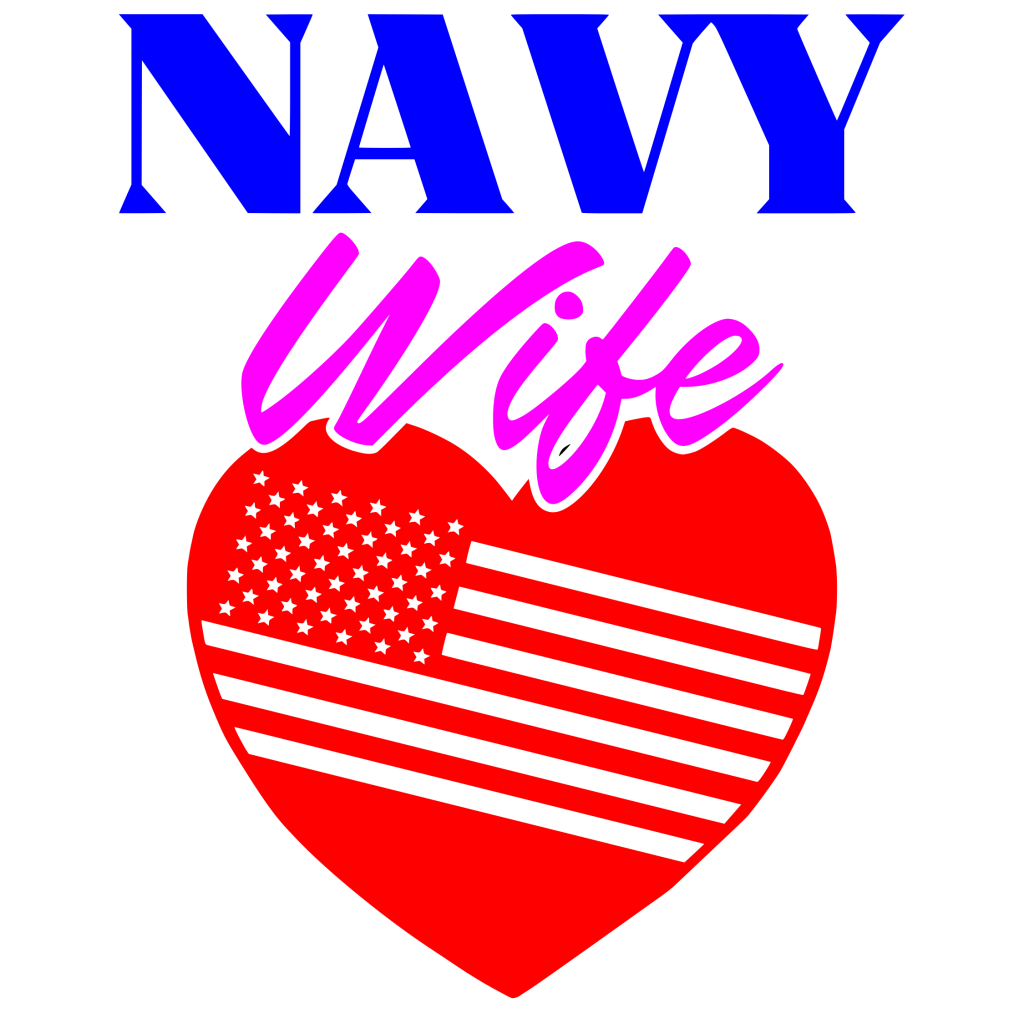 Free Navy Wife SVG Cutting File