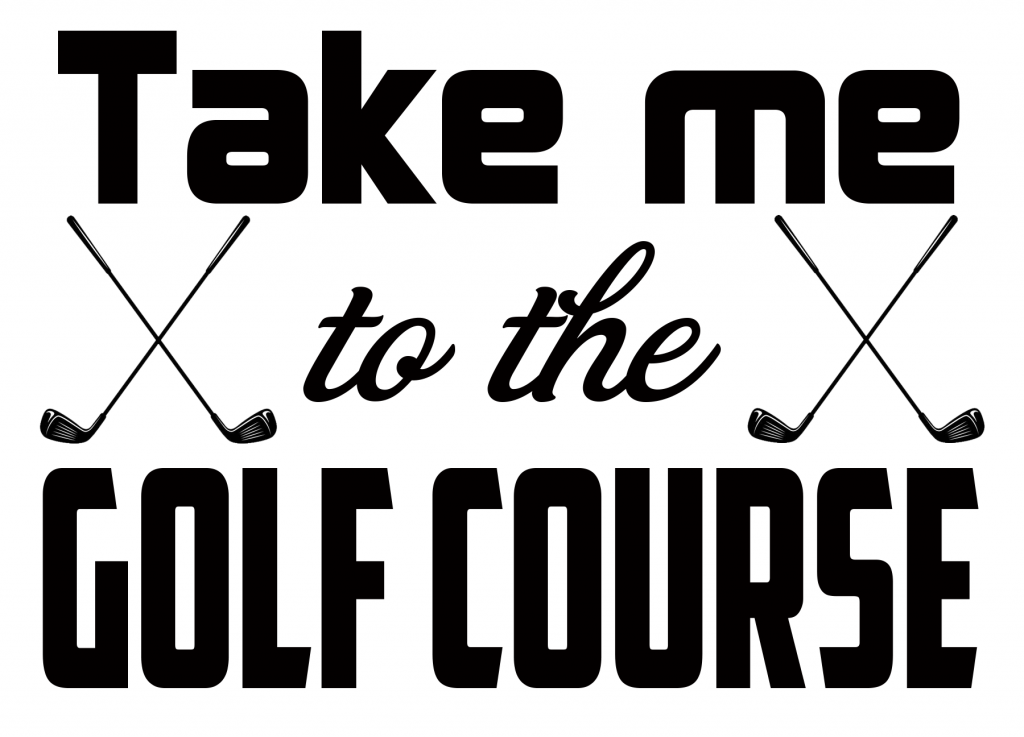 Free Golf Course SVG Cutting File