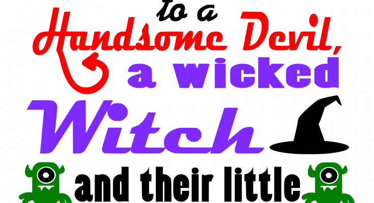 Free Halloween Sign SVG File