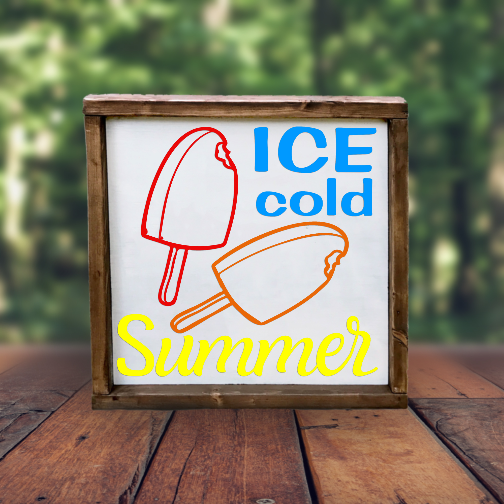 Free Ice Cold Summer SVG File