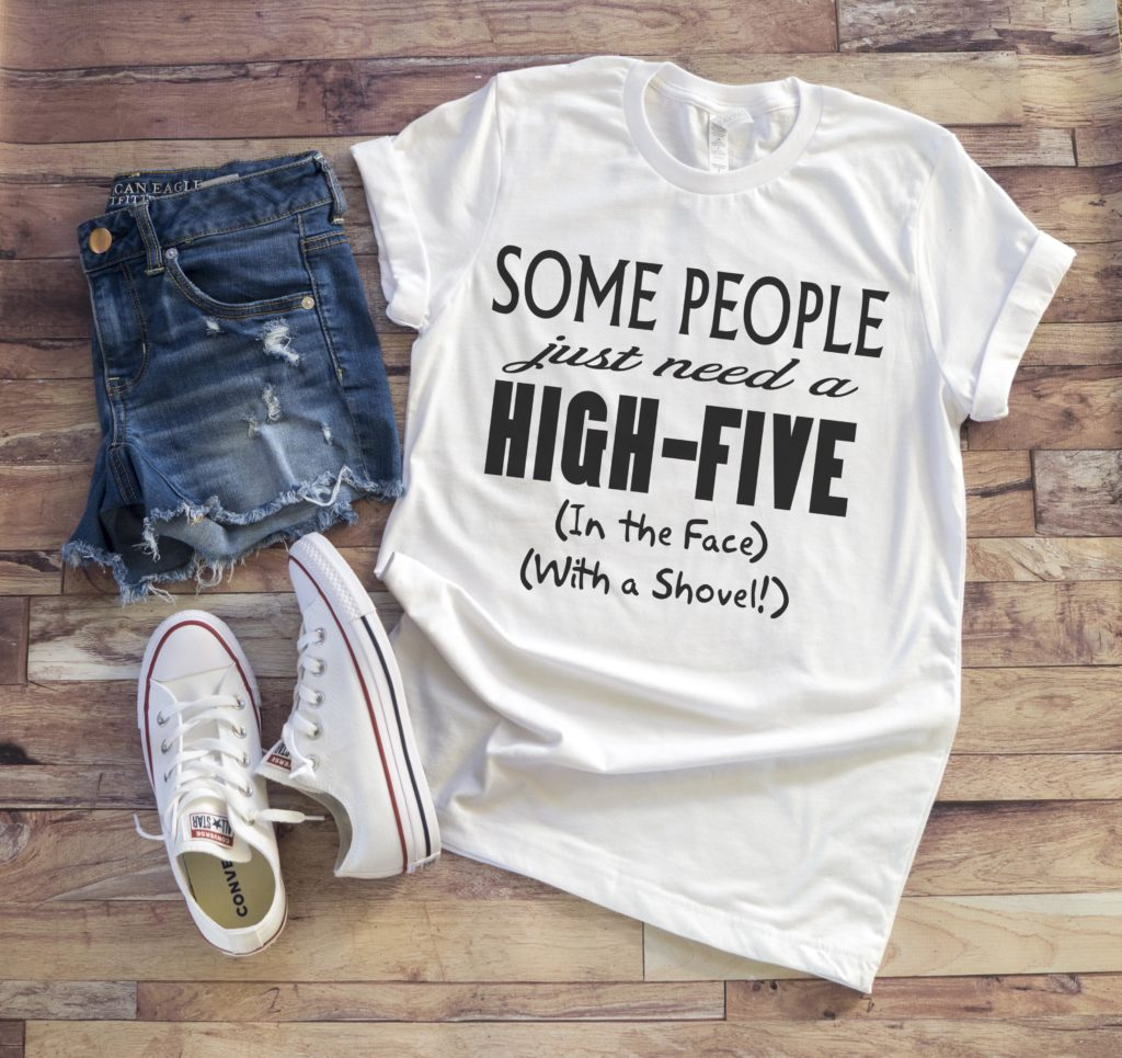 Free High Five SVG File