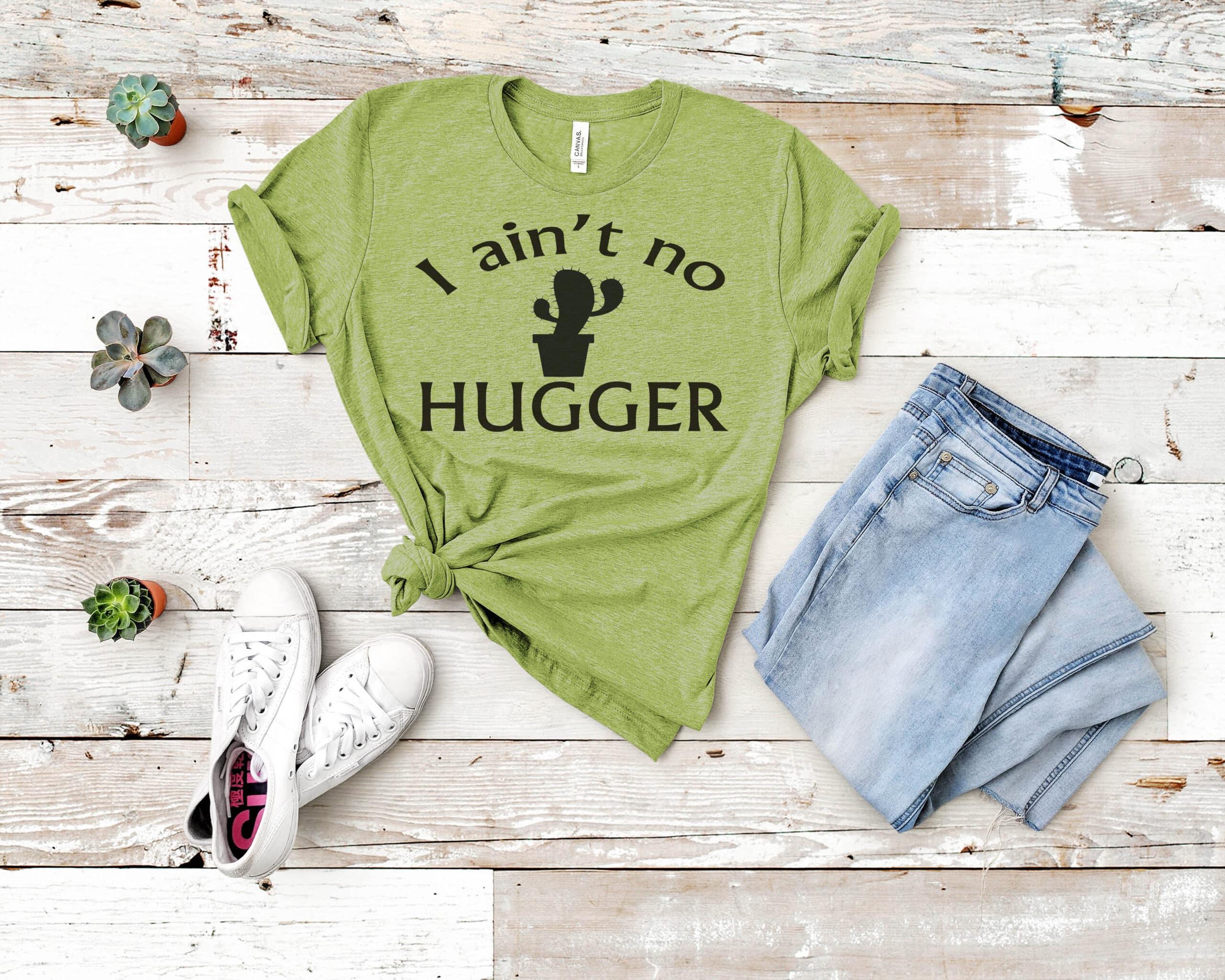 Free No hugger SVG File