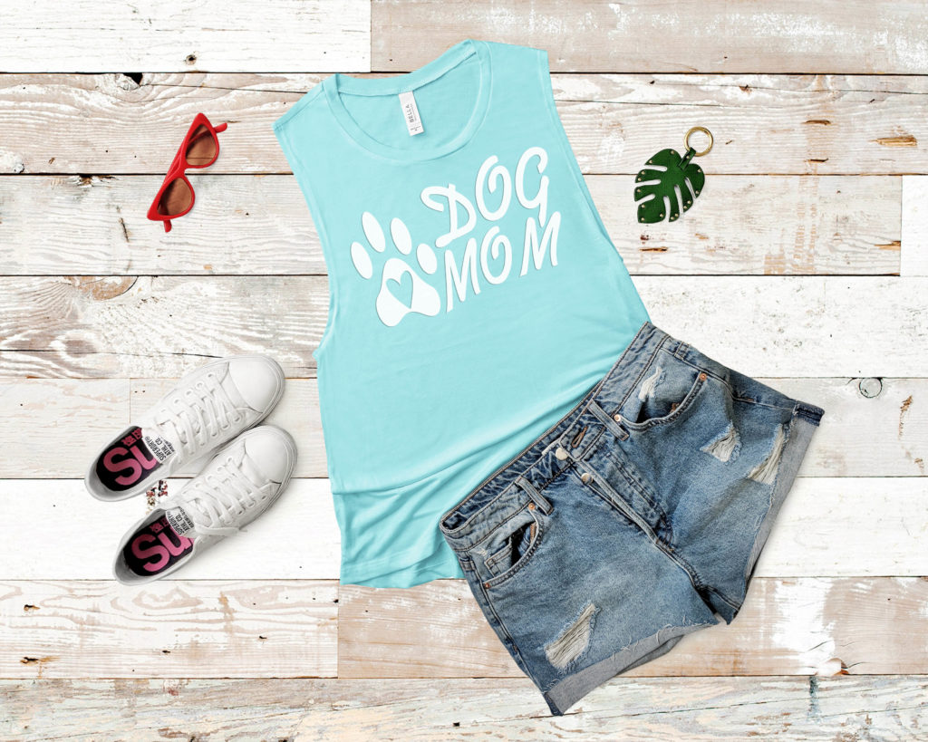 Free Dog Mom SVG File