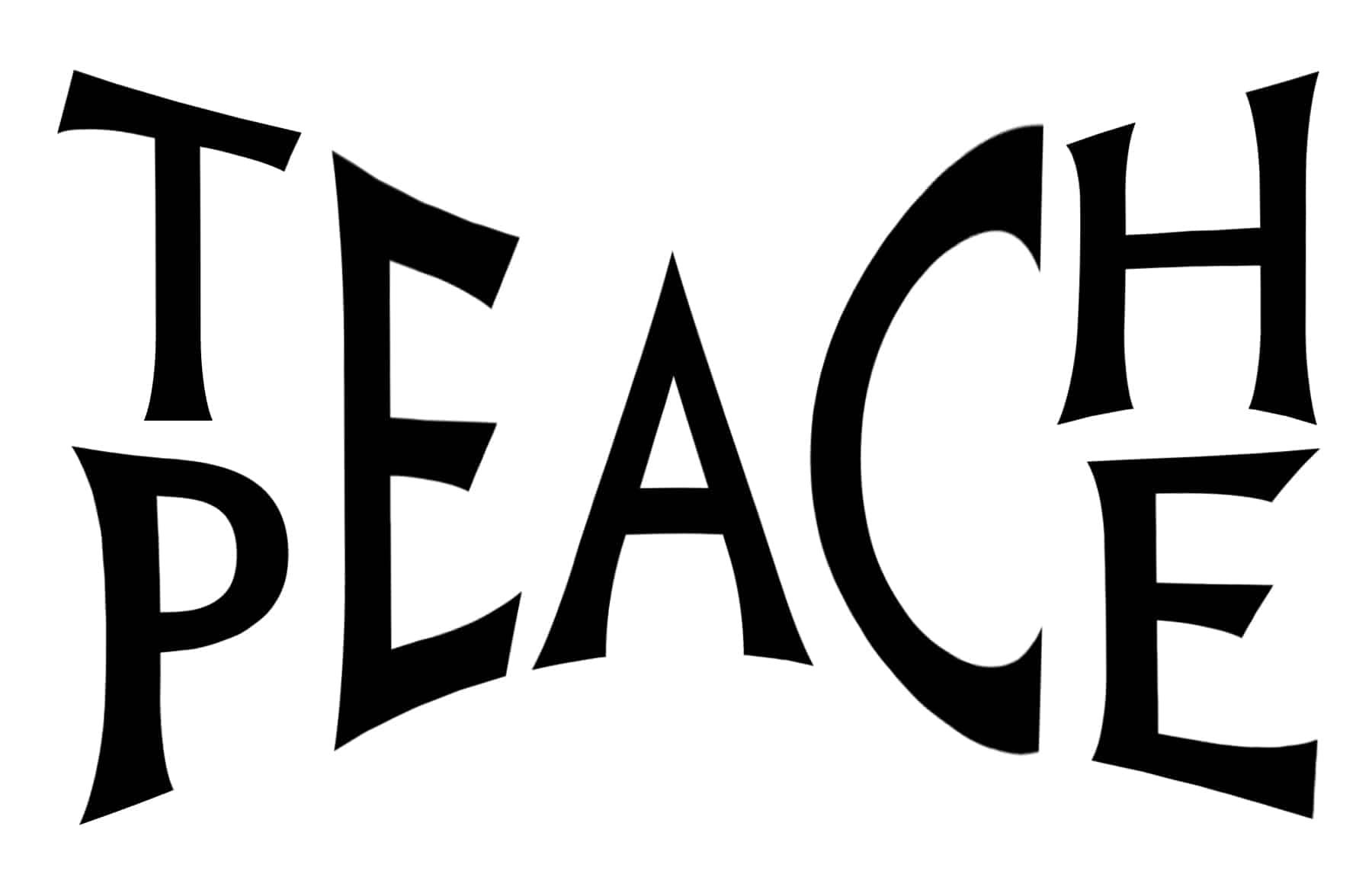 Free Teach Peace SVG File