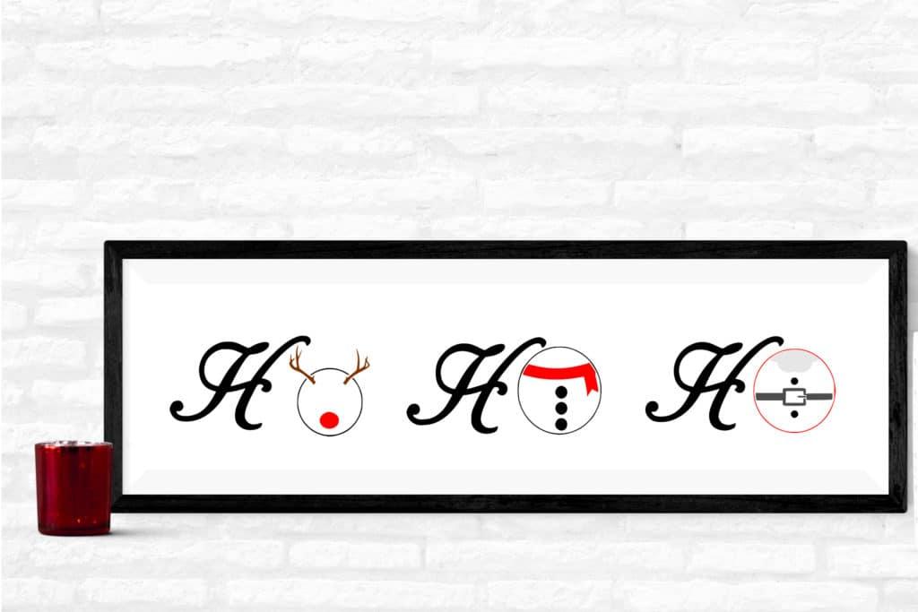 Free Ho Ho Ho SVG File