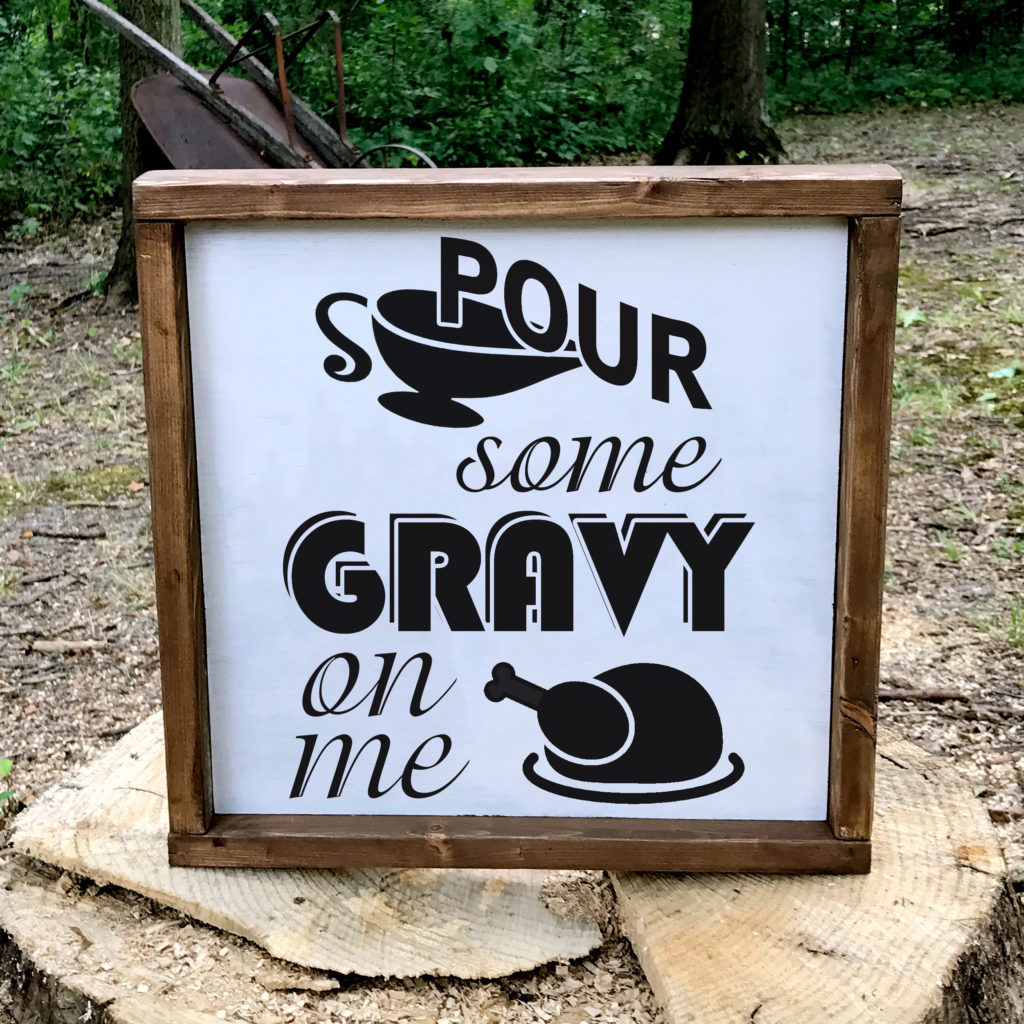 Free Pour Some Gravy On Me SVG File