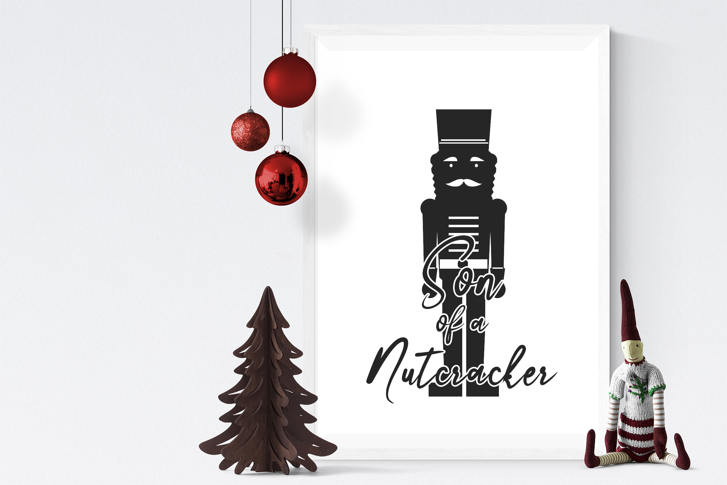 Free Son of a Nutcracker SVG File