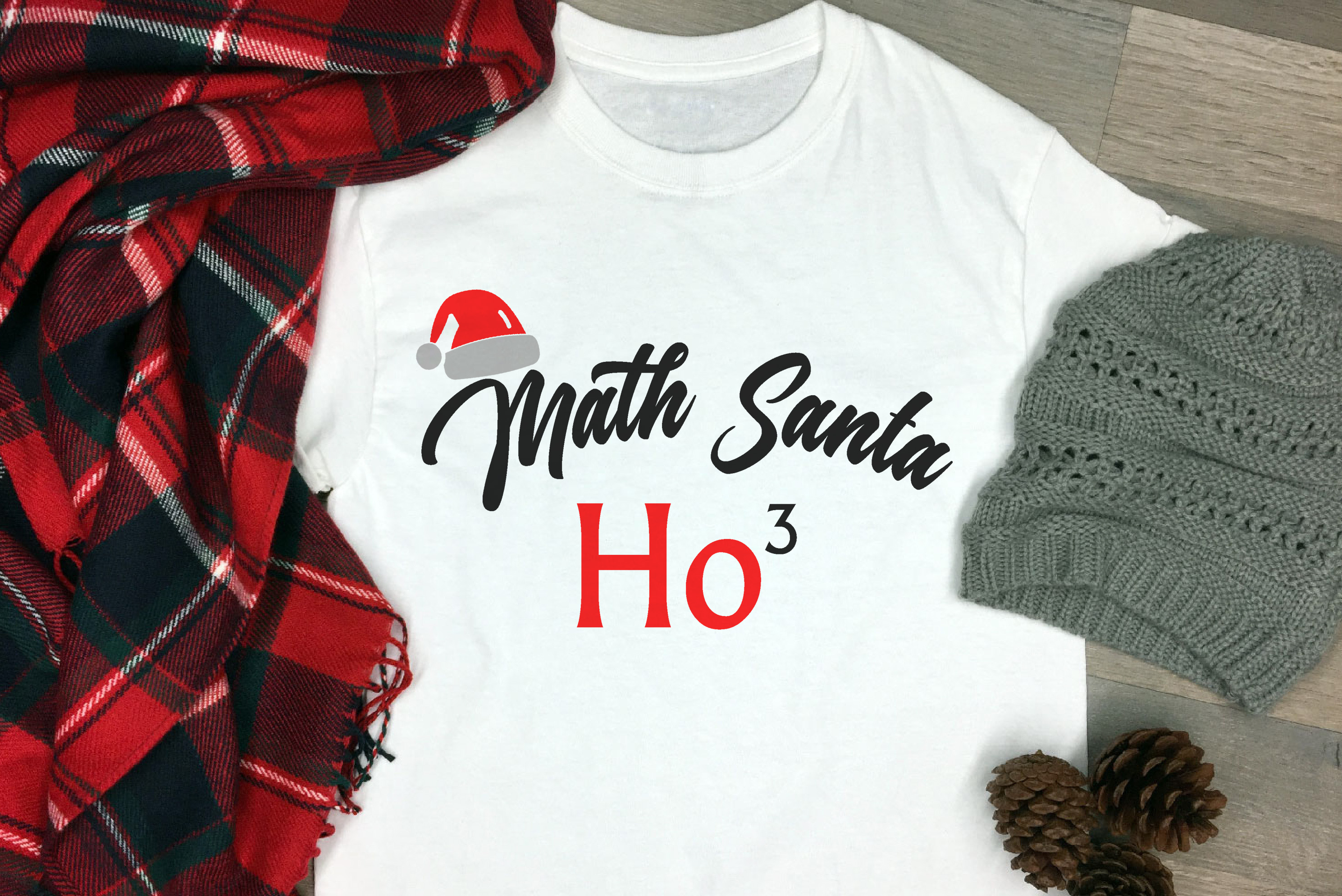 Free Math Santa SVG File