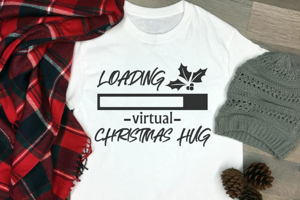 Free Loading Virtual Hug SVG File