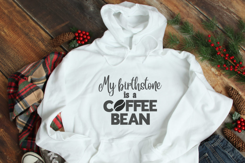 Free Coffee Birthstone SVG File