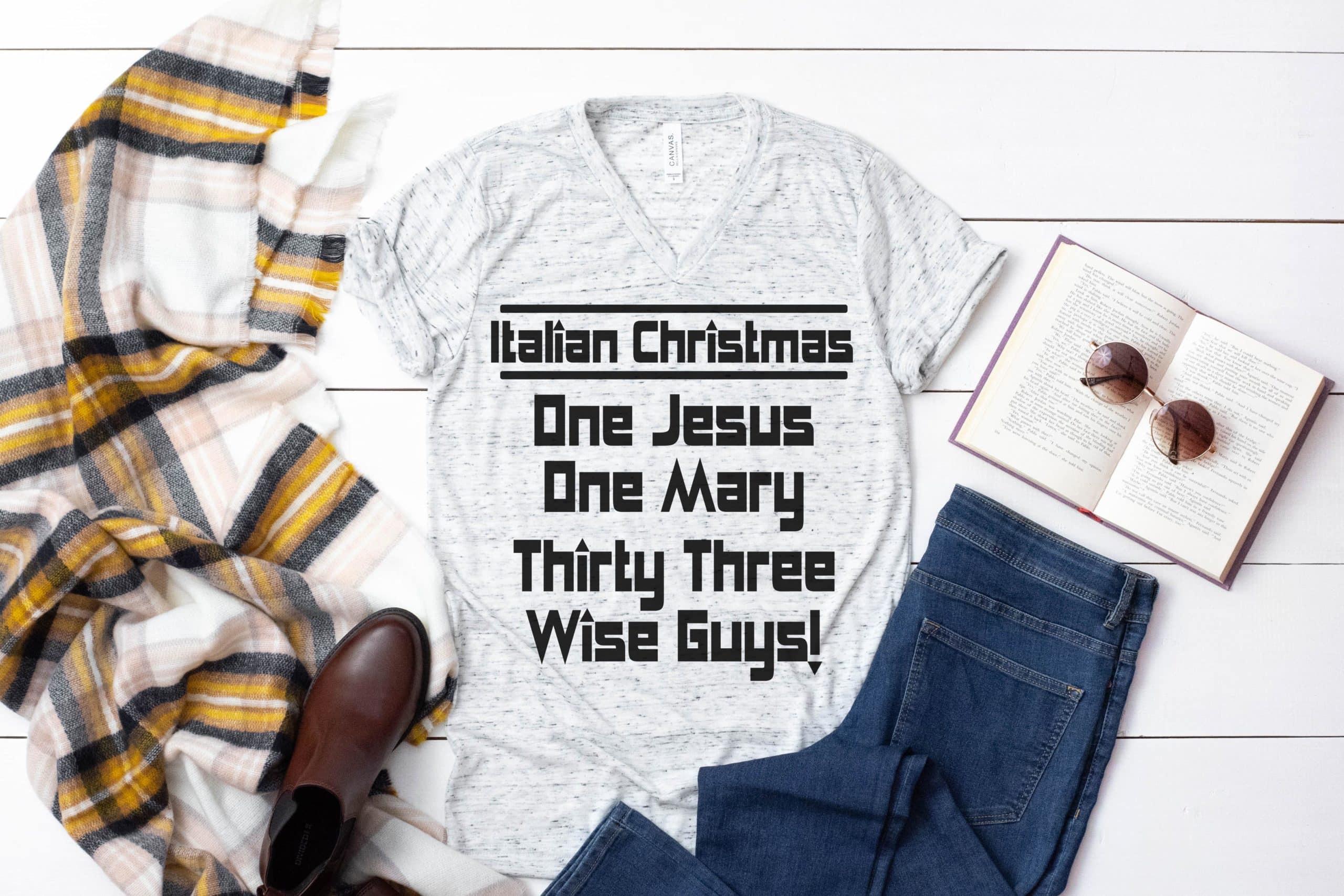 Free Italian Christmas SVG File
