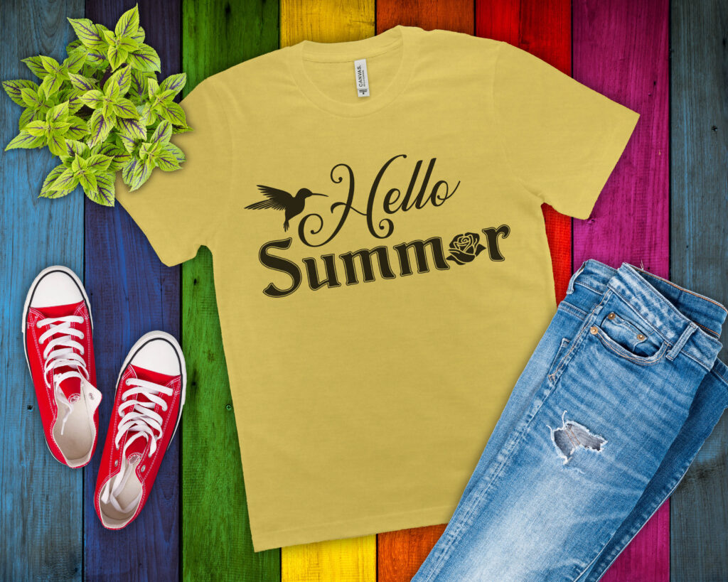 Free Hello Summer SVG File