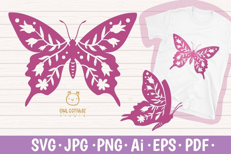 Free Butterfly SVG File for the Cricut