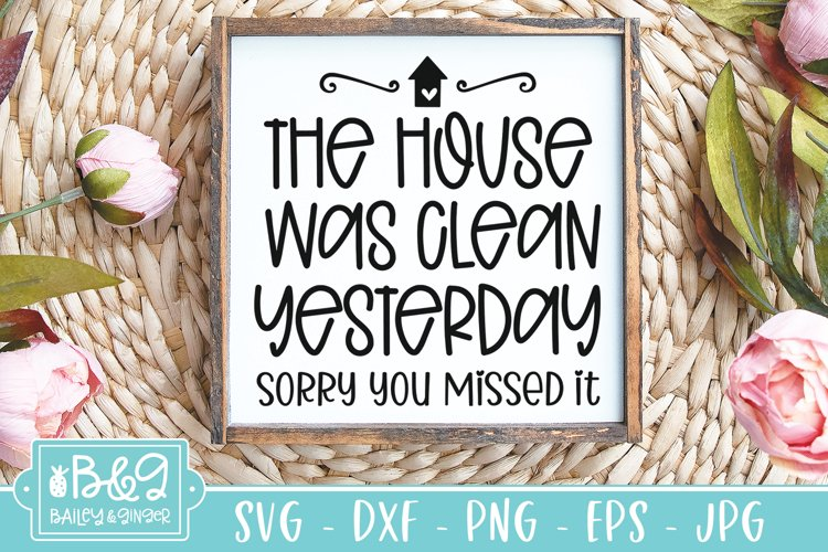 Free Clean House SVG File