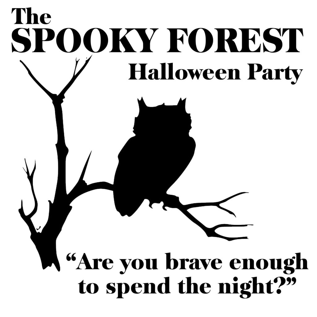 Free Spooky Forest SVG File